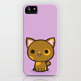 Kawaii Kitty 4 iPhone Case