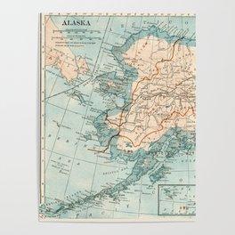 Vintage Alaska Poster