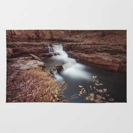 Unnamed waterfall in South Wales Rug