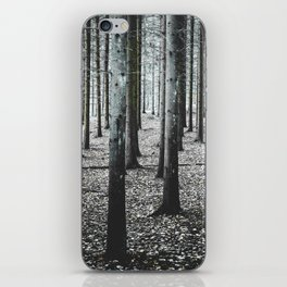 Coma forest iPhone Skin