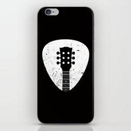 Rock pick iPhone Skin
