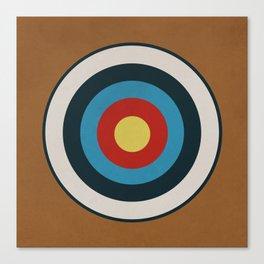 Vintage Target Canvas Print