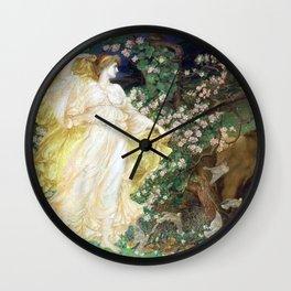 William Blake Richmond Venus and Anchises Wall Clock