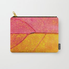 The leaf macro view, beautiful nature photo Carry-All Pouch