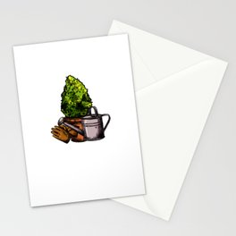 I Love Gardening And Tomatoes For A Gardener Shirt Stationery Cards
