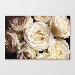 Rose print Boho photography Flower bedroom decor botanical Flowers gift for sister Canvas Print