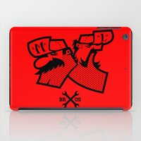 luigi iPad Cases featuring Mario & Luigi - BROS by La Manette