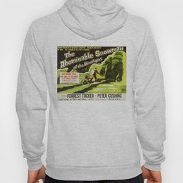 The Abominable Snowman of Himalayas, vintage horror movie poster Hoody