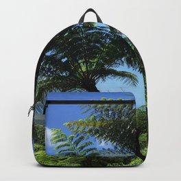 Daintree rainforest fern trees Backpack