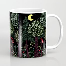 Into The Woods At Night Coffee Mug