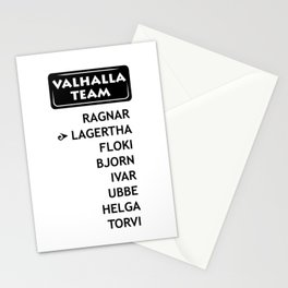 team Lagetha Stationery Cards