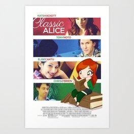 Classic Alice Movie Poster Art Print