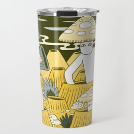 Mushroom Men Travel Mug