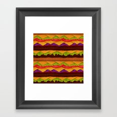 Infinite Burger Framed Art Print