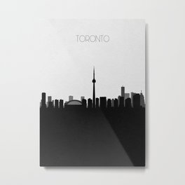 City Skylines: Toronto Metal Print