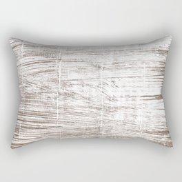 Cinereous abstract watercolor Rectangular Pillow
