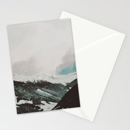 Moody Mountains Stationery Cards