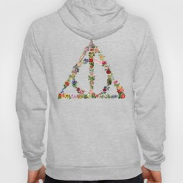 Truly Floral Deathly Hallows Hoody