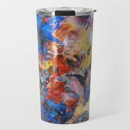 Dark Paint Splash Travel Mug