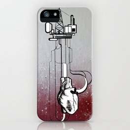Rigged Heart - pumping nonesense iPhone Case