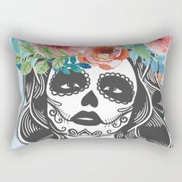 La Calavera Catrina Rectangular Pillow
