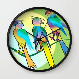 All a Twitter Wall Clock