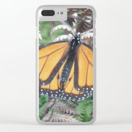 Monarch of the Fen Clear iPhone Case