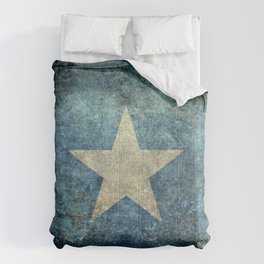 Somalian national flag - Vintage version Comforters