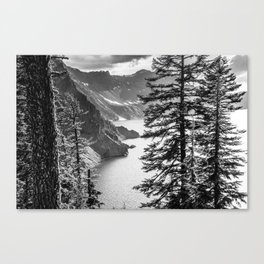 Forest Lake Retreat - Crater Lake Canvas Print