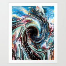 Pipe Dream Art Print