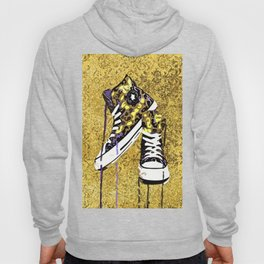 Animal Print Tennis Shoes Take a Walk On The Wild Side Hoody