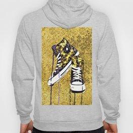 Animal Print Tennis Shoes Take a Walk On The Wild Side Hoody