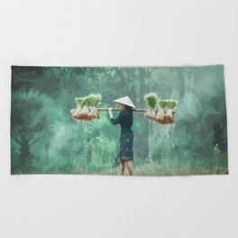 Bountiful Harvest Beach Towel