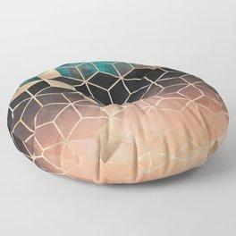 Ombre Dream Cubes Floor Pillow