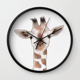 Gustaf Giraffe Wall Clock