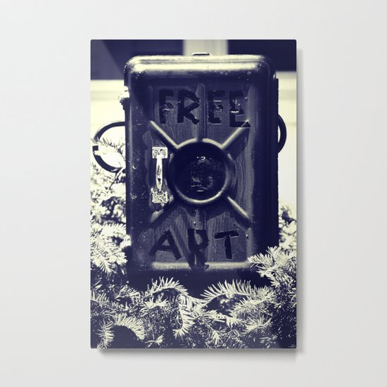 Free Art Metal Print