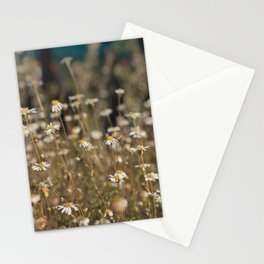 Field of Daisies - Floral Photography #Society6 Stationery Cards