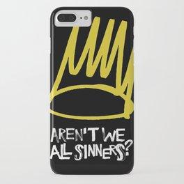 Born sinner iPhone Case