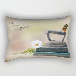 Mom's Ironing Day Rectangular Pillow