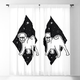 Cool Pug Blackout Curtain