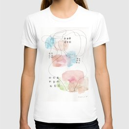 180805 Subtle Confidence 11| Colorful Abstract |Modern Watercolor Art T-shirt