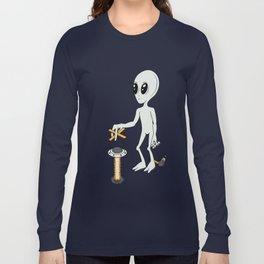 Grey Play Long Sleeve T-shirt