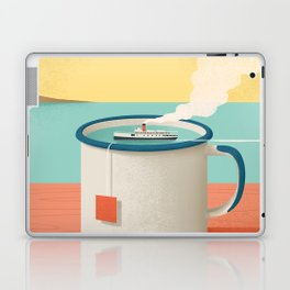Cup of sea Laptop & iPad Skin