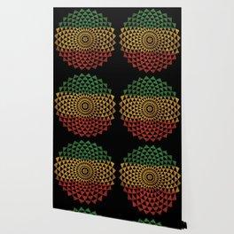Rasta Flower of Life Wallpaper