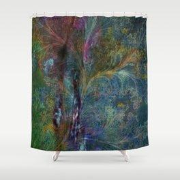 [dg] Mistral (Gaudi) Shower Curtain