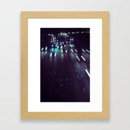 (purp)xSTREETZ Framed Art Print