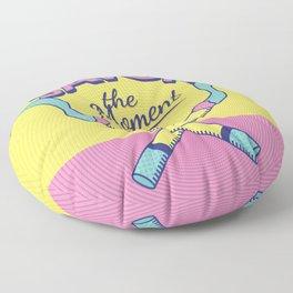 Savor the Moment Floor Pillow