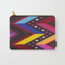 Colored huipil Carry-All Pouch