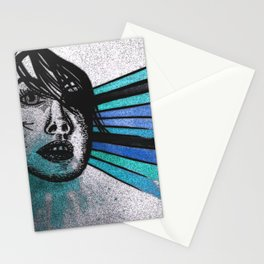 Facial Expressions Stationery Cards
