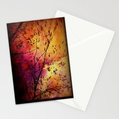 The storm (later that very evening) Stationery Cards